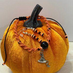 Witch hat Halloween 🎃 jewelry set